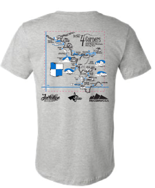 The Drive 4 Corners 2019 Event Tshirt