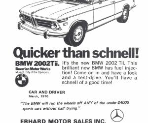 BMW 2002Tii ad (1970)