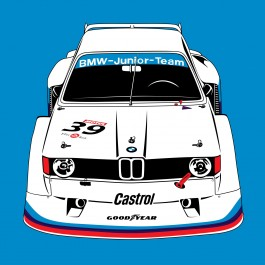 The E21 320i Turbo as driven by the BMW Junior Team.