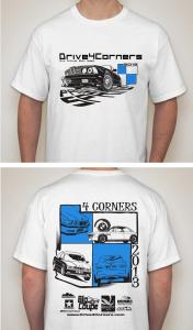 The Drive 4 Corners 2013 Event Tshirt