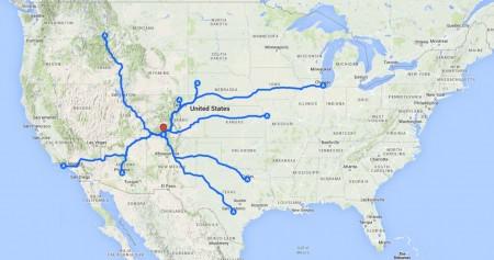 longdistance travellers